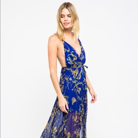 928e3cac66d87 Skylar + Madison Dresses | Skylar Madison Floral Printed Maxi Dress ...